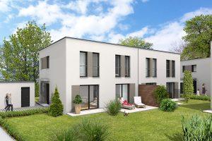 Ansicht Haustyp-2 Terrasse